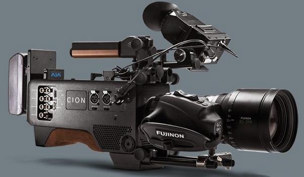 aja便携式摄像机cion闪亮birtv2014